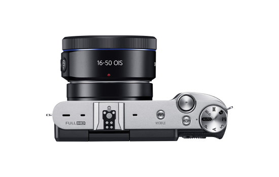 samsung-nx3000-top Samsung NX3000 is a mirrorless camera for selfie enthusiasts News and Reviews