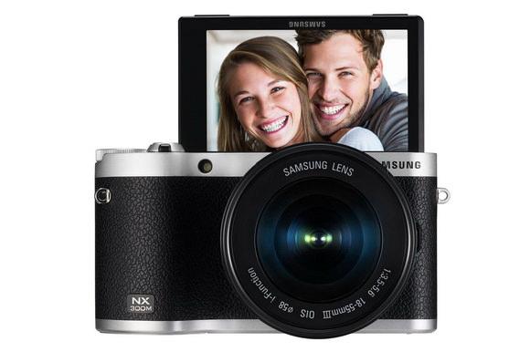 Samsung NX300M camera