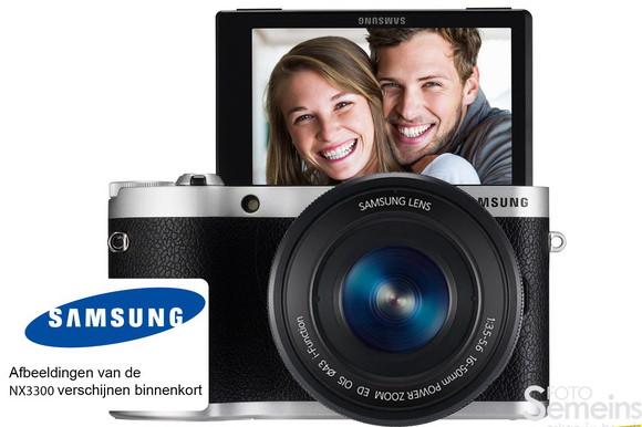 Samsung NX3300 photo leaked