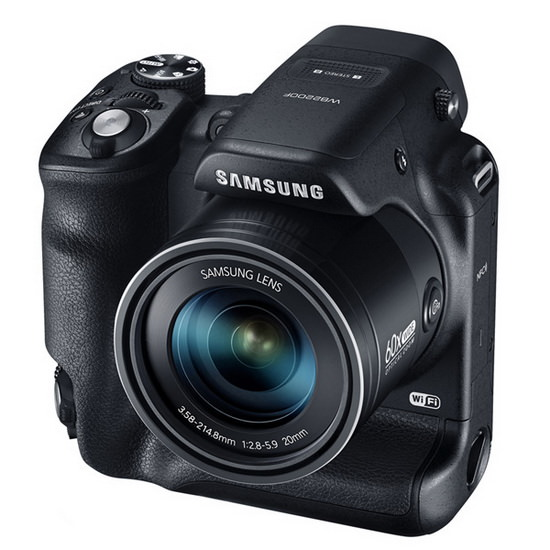 samsung-wb2200f Samsung WB2200F unveiled at CES with Dual Grip and 60x zoom News and Reviews