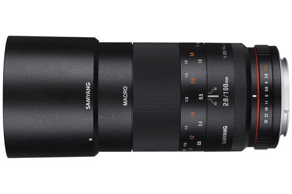 Samyang 100mm f/2.8 ED UMC Macro lens