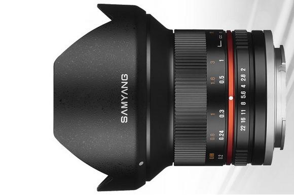 Samyang 10mm f/2.8 lens