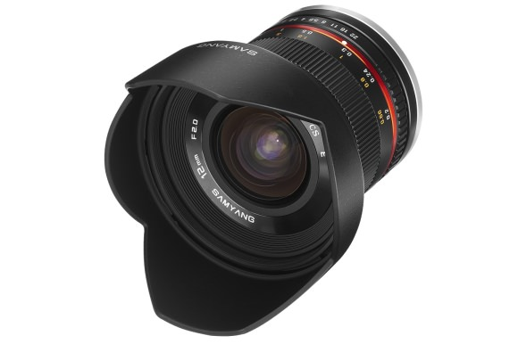 Samyang 12mm f/2 wide-angle