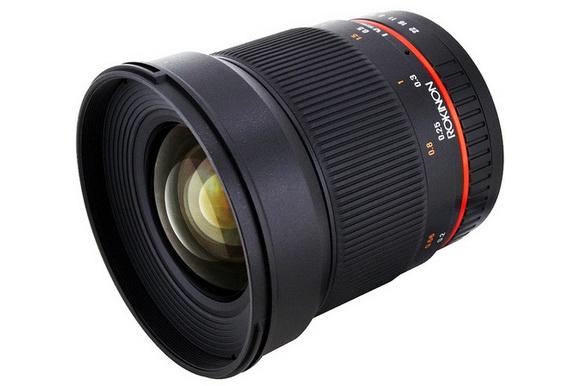 Samyang 16mm f/2