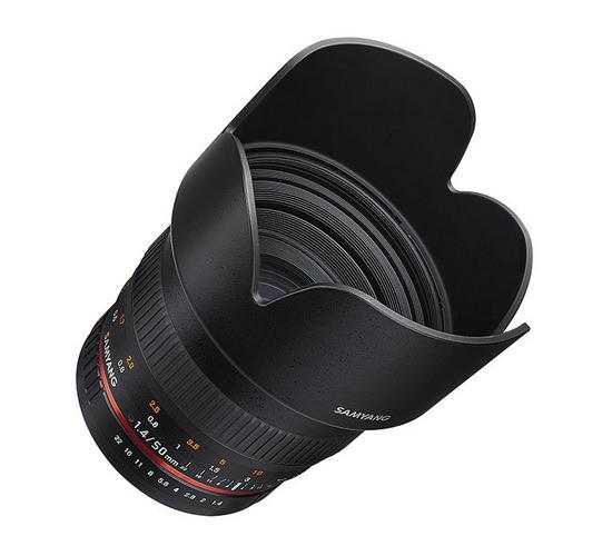 samyang-50mm-f1.4-as-umc Samyang 50mm f/1.4 AS UMC lens announced at Photokina 2014 News and Reviews