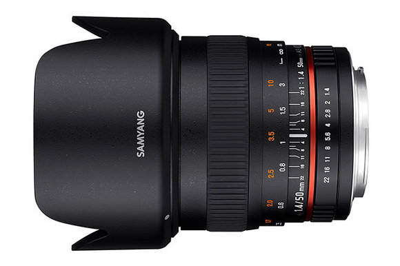 Samyang 50mm f/1.4 Photokina