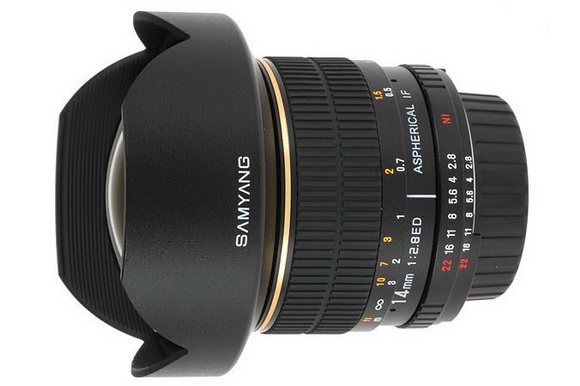 Samyang preparing a 50mm f/1.2 lens for 2014