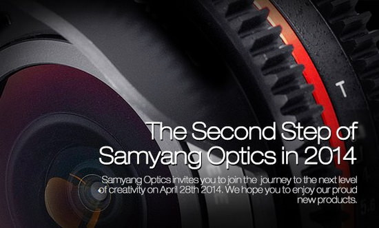 samyang-teaser-april-28 Samyang 50mm cine lens rumored to be unveiled on April 28 Rumors