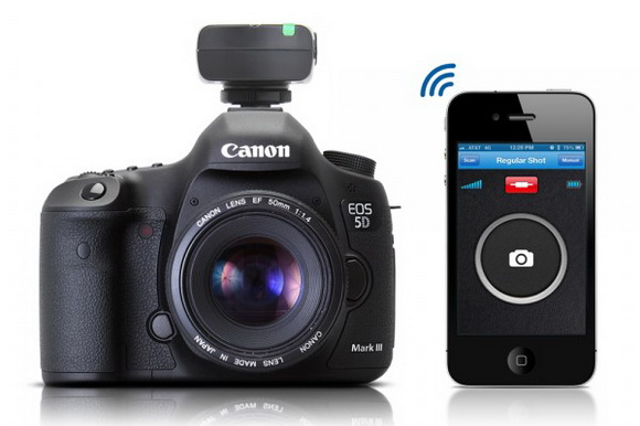Satechi Bluetooth Smart Trigger released for iPhone users, allowing them to control their Canon cameras and camcorders
