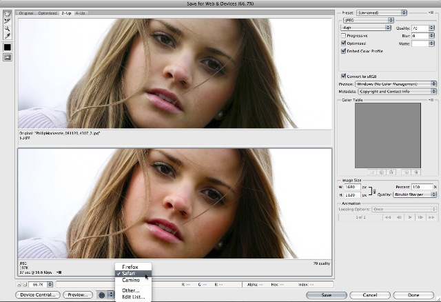 saveforweb-thumb Soft Proofing to Achieve Closely Matched Color Online and in Photoshop Guest Bloggers Photoshop Tips & Tutorials