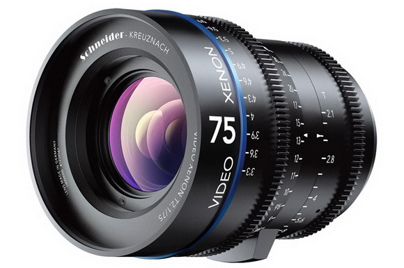 Schneider-Kreuznach Xenon cine prime lenses announced