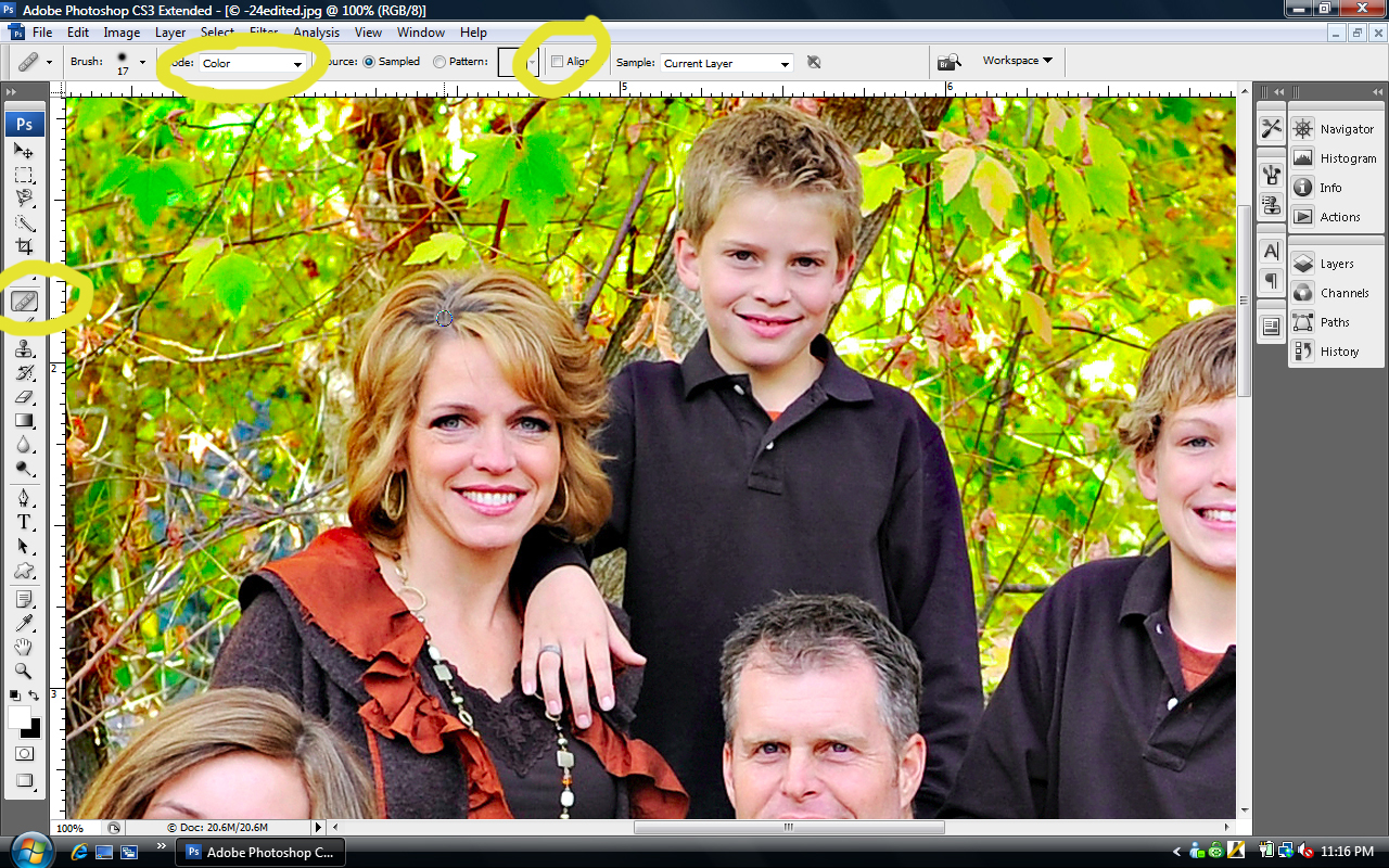 screen-shot-2 Fixing Roots & Hair Color in Photoshop Guest Bloggers Photoshop Tips & Tutorials