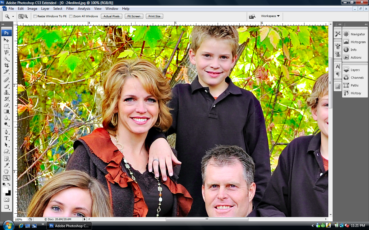 screen-shot-3 Fixing Roots & Hair Color in Photoshop Guest Bloggers Photoshop Tips & Tutorials