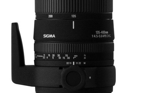 Sigma 135mm lens
