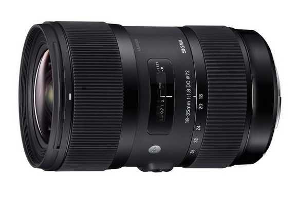 Sigma 18-35mm f/1.8 lens A-Mount