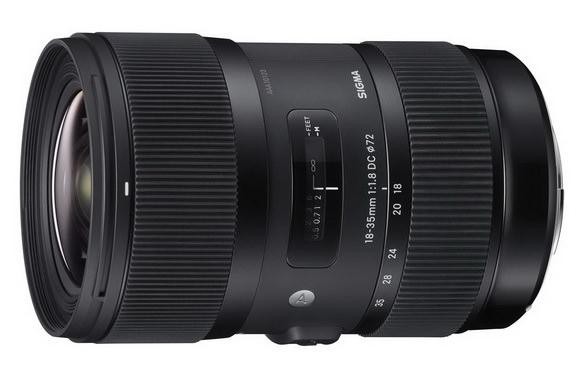 Sigma 18-35mm wide-angle zoom