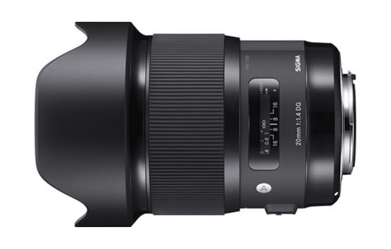 sigma-20mm-f1.4-dg-hsm-art Sigma 20mm f/1.4 DG HSM Art lens becomes official News and Reviews