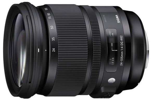 Sigma 24-105mm f/4 DG OS HSM Art lens