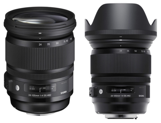 sigma-24-105mm-f4 Sigma 24-105mm f/4 DG OS HSM Art lens accidentally announced News and Reviews