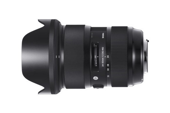 Sigma 24-35mm f/2 wide-angle zoom