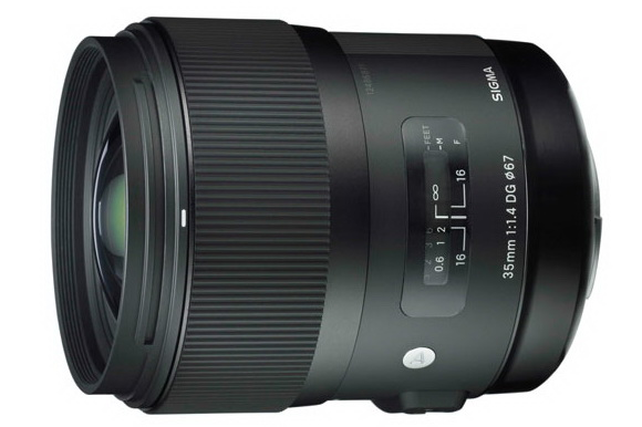 Sigma 35mm f/1.4 DG HSM lens benchmarked by DxOMark