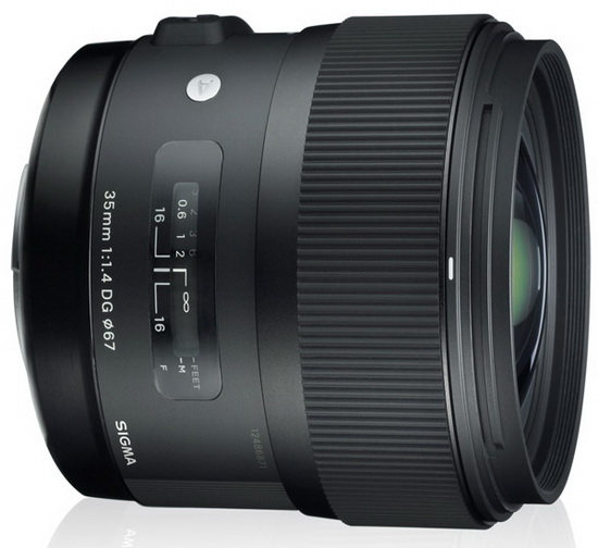 sigma-35mm-f1.4-lens Sigma 35mm f/1.4 lens coming on May 31 for Sony and Pentax cameras News and Reviews