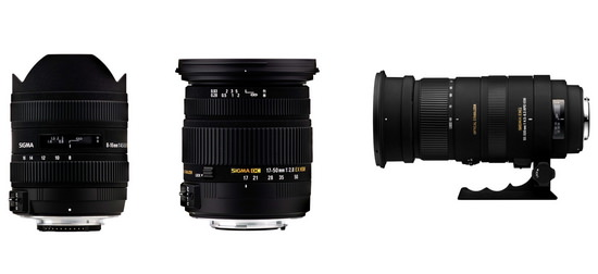 sigma-lens-line-up Sigma FE-mount lenses are not in development, company says Rumors