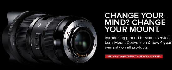 sigma-mount-conversion-system Sigma introduces innovative Lens Mount Conversion System News and Reviews