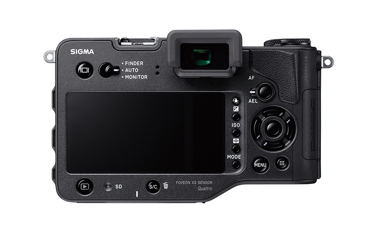 sigma-sd-quattro-back Sigma MC-11 adapter, EF-630 flash, and two cameras announced News and Reviews