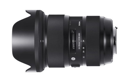 sigma-wide-angle-zoom-f2-lens Canon wide-angle zoom L f/2 lens in development? Rumors