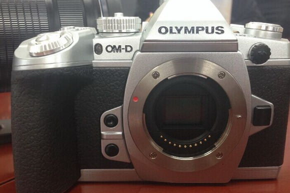 Silver Olympus E-M1 leaked