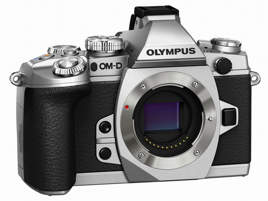 silver-olympus-e-m1 Silver Olympus E-M1 unveiled along with firmware update 2.0 News and Reviews