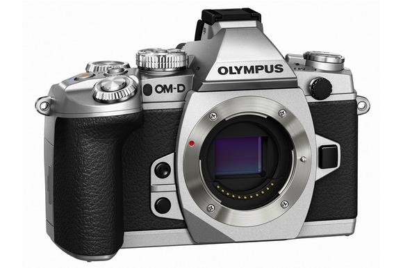 Silver Olympus OM-D E-M1