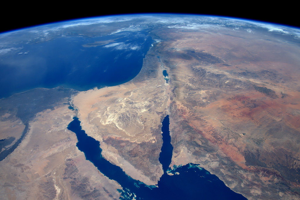 sinai and syrian desert tim peake