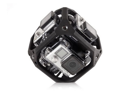 six-camera-spherical-array GoPro quadcopter and virtual reality device coming soon News and Reviews