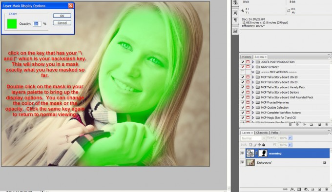 small-mask3 Quick Tip   How can I see exactly what I have masked? Layer Mask Question Answered Photoshop Tips & Tutorials