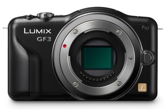 Small Panasonic Micro Four Thirds camera