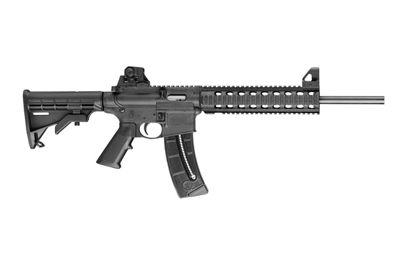 The Smith & Wesson M&P15-22 semi-automatic rifle which sparked the controversy
