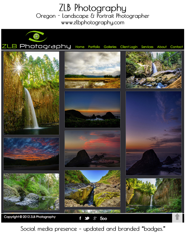 smugmug-wordpress-customization-ZLB-photography 8 Steps to Improve Your Photography Website Business Tips Guest Bloggers Social Networking