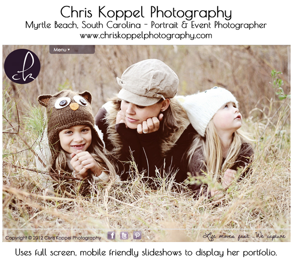 smugmug-wordpress-customization-chris-koppel-photography 8 Steps to Improve Your Photography Website Business Tips Guest Bloggers Social Networking