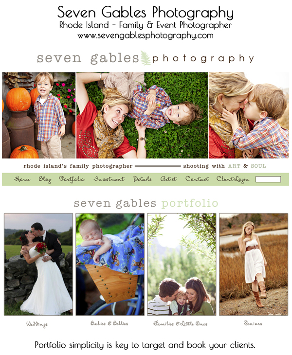 smugmug-wordpress-customization-seven-gables-photography1 8 Steps to Improve Your Photography Website Business Tips Guest Bloggers Social Networking
