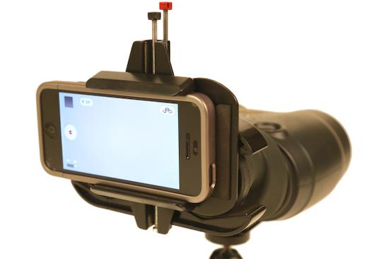 snapzoom-smartphone-scope-adapter Snapzoom – the smartphone-to-scope adapter News and Reviews
