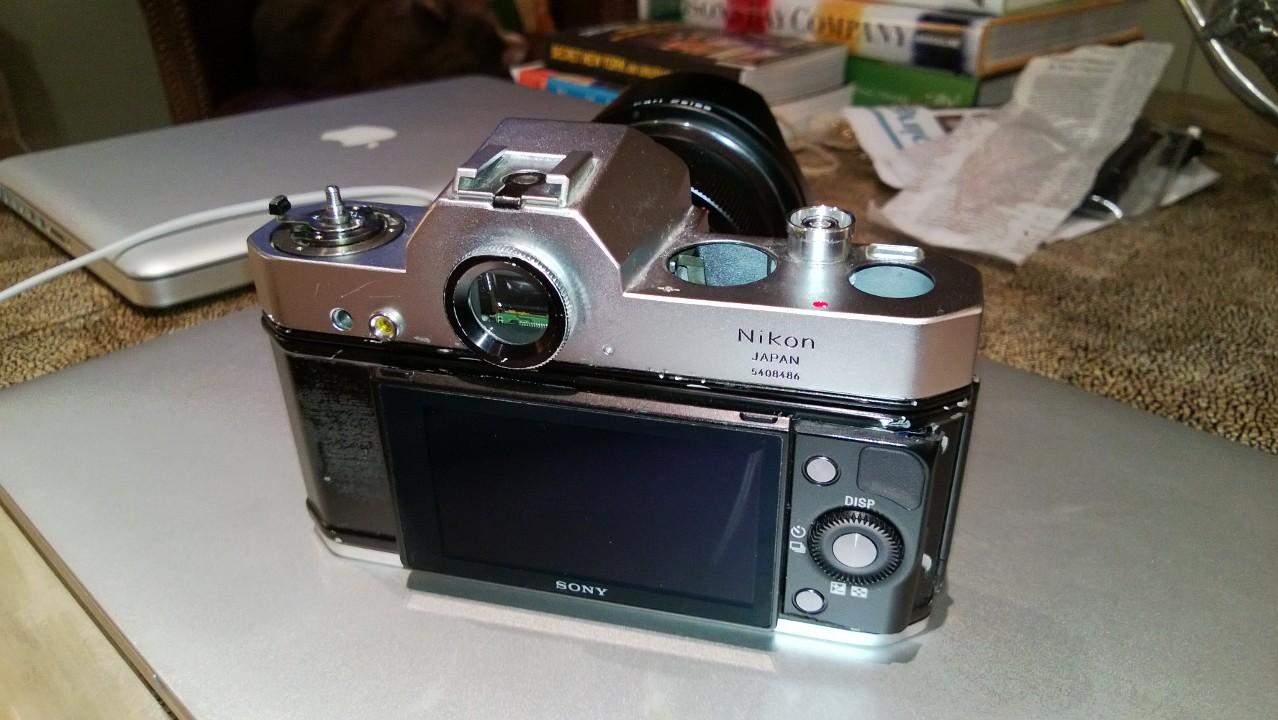 sonikon-camera Sonnikon, the Franken-camera project Fun