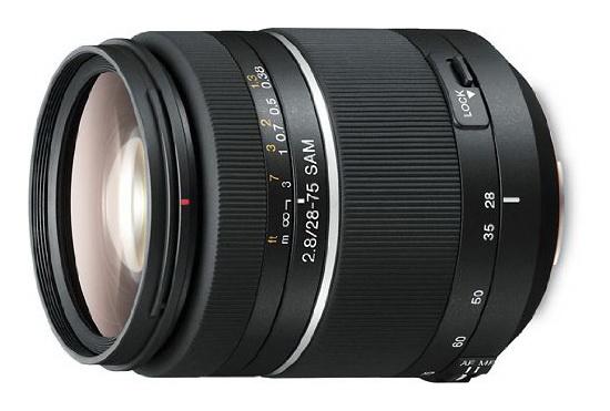 sony-28-75mm-f2.8 Sony FE 28-70mm f/4 lens launching as the kit optic for the NEX-9 Rumors