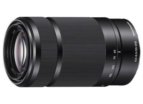 sony-55-210mm-f4.5-6.3-black CES 2014: Sony A5000 revealed along with Black 55-210mm lens News and Reviews
