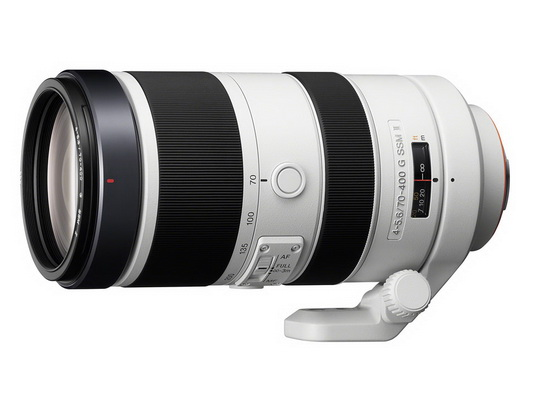 sony-70-400mm-f4-5.6-g-ssm-ii Zeiss 50mm, Sony 70-400mm and 18-55mm lenses revealed News and Reviews