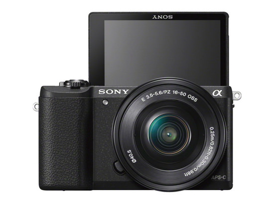 sony-a5100-front Sony A5100 revealed with A6000's sensor and AF system News and Reviews
