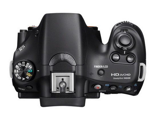 sony-a58-top Sony A58 introduced with 20.1-megapixel sensor and OLED Tru-Finder News and Reviews