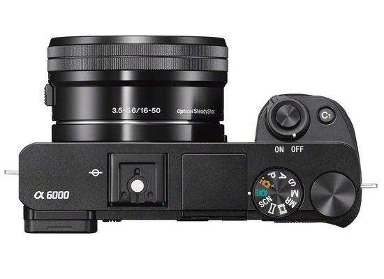 sony-a6000-top Sony A6000 mirrorless camera introduced as NEX-6 replacement News and Reviews