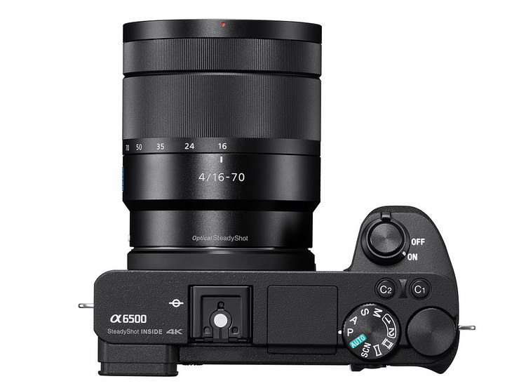 sony-a6500-top Sony A6500 announced with 5-axis IBIS and touchscreen Featured News and Reviews